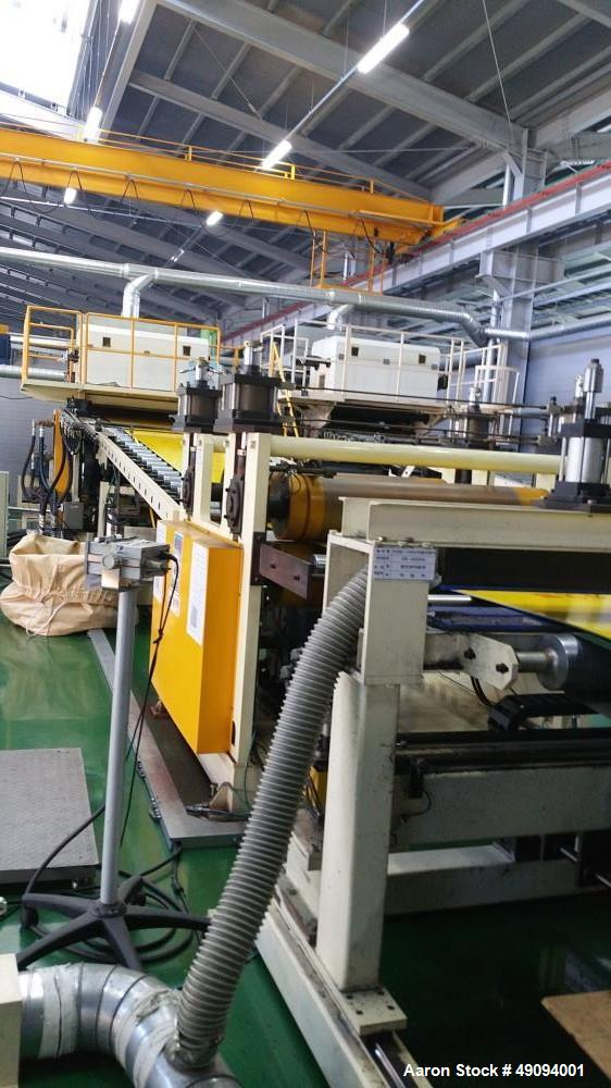 Used- HD PE Thick Sheet Manufacturing Line.