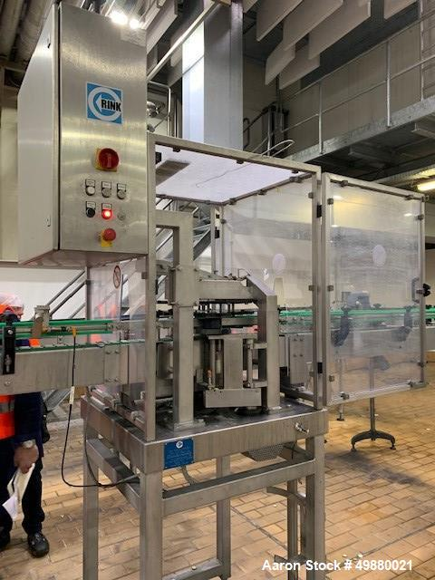 Used- Glass Bottling Filling Line