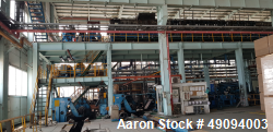 "Used- 48.75"" (1250 mm) Continuous Galvanizing Line"