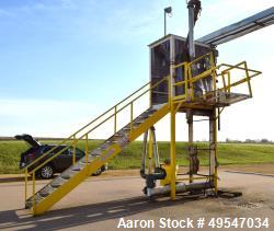 """Used- OPW Truck Loadout Station. With Veeder-Root meter. Approximate 114"""" tall frame."""
