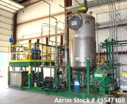 Used- Harvest Energy Acid Degumming System Consisting Of:: Alfa Laval WHPX510TGD24-60HZ Disc Centrifuge. Driven by a 15kw mo...