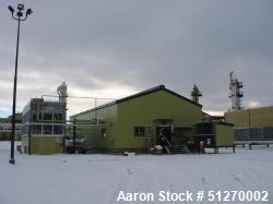 C02 Plant, 320 tpd. Located in Elmworth, Alberta, Canada.