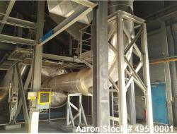 Andritz Austria Continuous Sludge Drying Plant. Unit with a capacity of 2200-11000 lbs/h.r (1000-50...