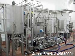 Used-H. Falterbaum – Famix-Maschinen Bau GmbH lemonade mixing plant, type FAMIX 30.000 TDS-4K. Max capacity 25000-liter (661...