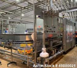 Used- Glass Bottling Filling Line