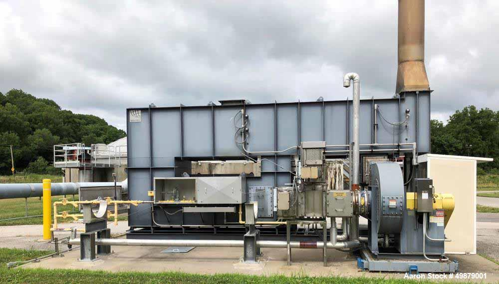 Used- Megtec Systems Recuperative Thermal Oxidizer (RTO), Model Phoenix 4000.