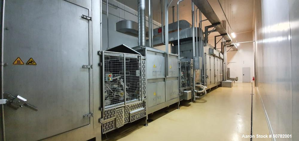 Used- Townsend Stork Food Systems QX Cooked Smoked Co-Extrusion Sausage Line