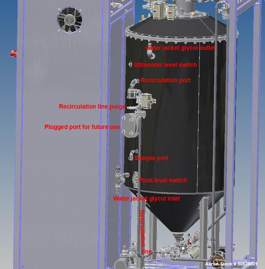 Used- Automated Biodiesel Reactor; Model R475