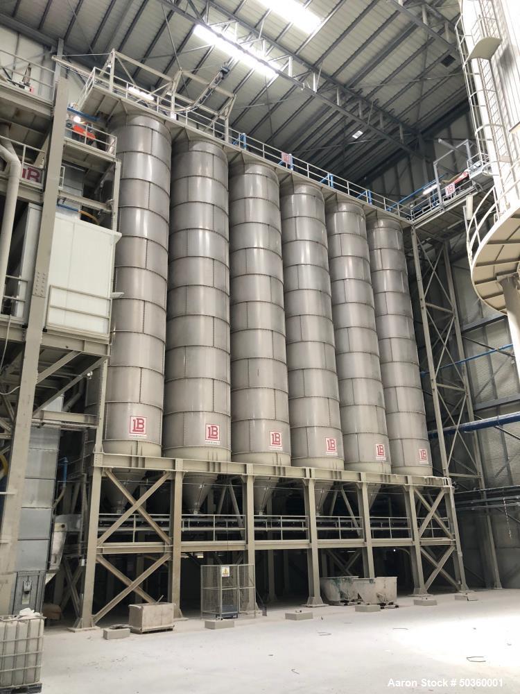 Used- SACMI Ceramic Designed Wall and Floor Tile Plant