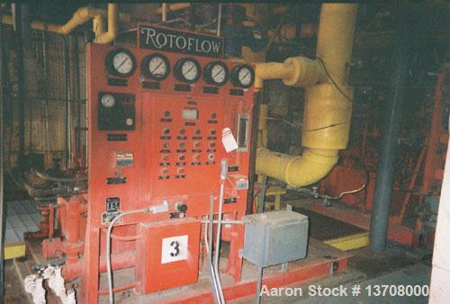 Used-Oxygen Plant. Rated 50 tons per day (ASU). Purity 99.8% gaseous oxygen, built by Sumitomo. Includes inlet air filter, I...