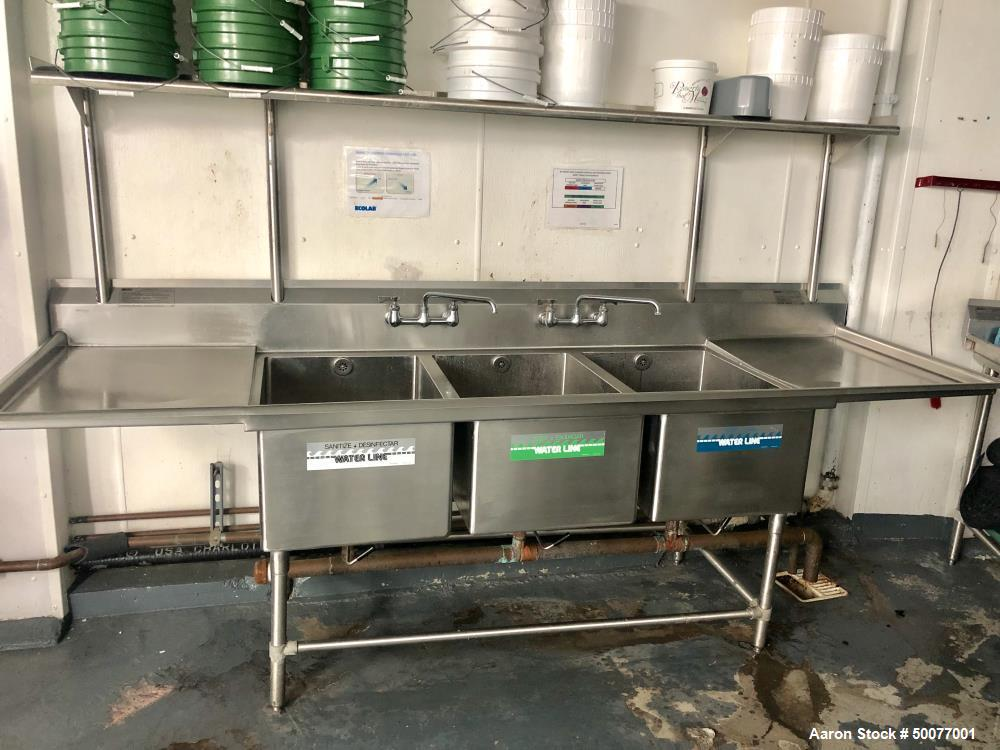 Used- Technogel Mixworking Batch-Pasteurizing Plant with Chiller and Boiler