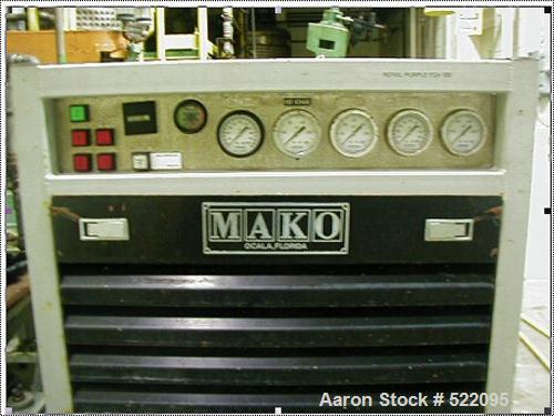 USED: MAKO model 5406-10E3 multistage air cooled