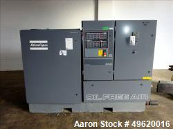 Atlas Copco Water Cooled Oil Free Rotary Screw Compressor, Model ZR 3-63. Approximate capacity 790 ...
