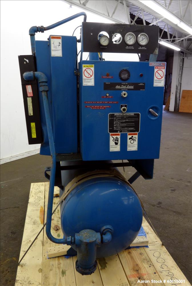Used Quincy Qst 30 Tank Mounted Helical Screw Co