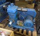 Used- Quincy 2 Stage Air Cooled Compressor, Model 340, Size 5.25 x 3 x 3.5. Driven by a 10hp motor. Serial# 412617.