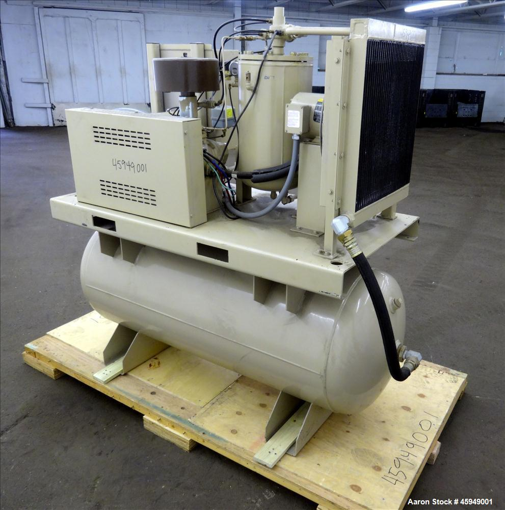 Used Curtis Rotary Screw Air Compressor 120 Gal