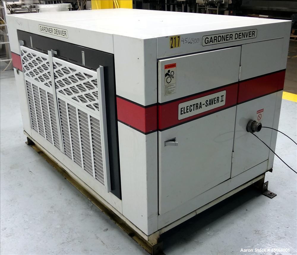 Used Gardner Denver Electra Saver Ii Air Compres Motor Wiring Diagrams Compressor Model Ebhqjc
