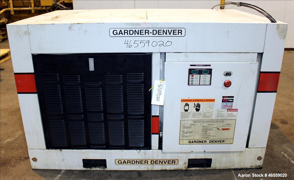 Used Gardner Denver Electra Screw Rotary Screw A