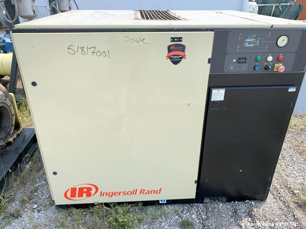 Ingersoll Rand Rotary Screw Compressor, Model SSRUP-40-125