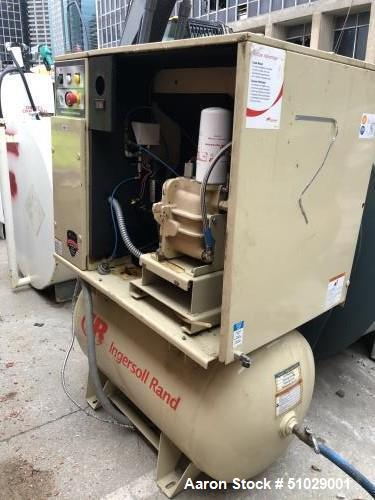 Used- Ingersoll-Rand UP6-15CTAS-150 15 HP Rotary Screw Air Compressor