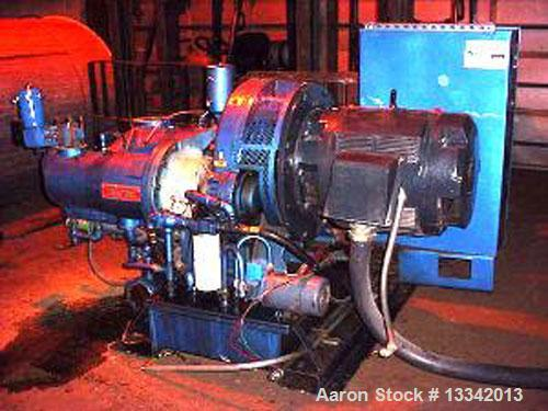 """Used-Ingersoll-Rand Centac Type C8M2, 200 HP Air Compressor, Oil-Free. Overall 8' x 6"""" x 64"""" x 56"""" compressor only; 460 volt..."""