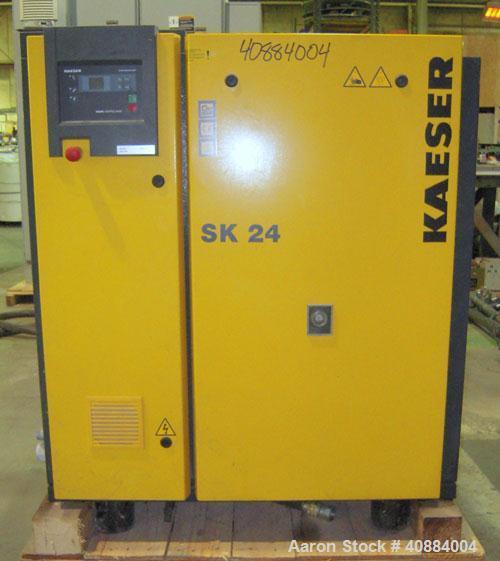 Used- Kaeser Stationary Rotary Compressor, on