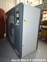 Atlas Copco Oil-Injected Rotary Screw Compressor, Model GA75VSF. Rated 518.5 CFM at 185 psi, 100hp m...