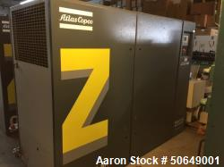 Used- Atlas Copco Air Compressor, Model ZT30