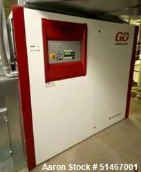 Used- Gardner Denver Air Compressor, Model Enviroaire VS-75-10A