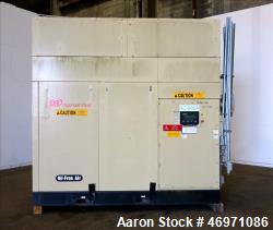 Used- Ingersoll-Rand Sierra Air Cooled Rotary Screw Air Compressor, Model H350A.