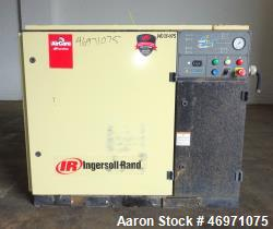Used- Ingersoll-Rand Air Cooled Rotary Screw Air Compressor, Model SSR UP6-20-12