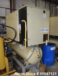 Used- Ingersoll-Rand Compressor, Model SSR UP6-25-125. Serial# PX6732U06093. Includes a built in air dryer.