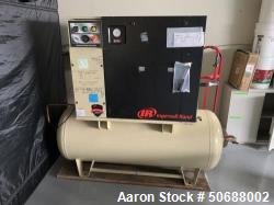 Used- Ingersoll Rand 120 Gallon Tank 15 hp Rotary Screw Air Compressor