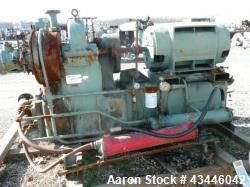 Used-Joy turbo 18 air compressor, three stage, 125 psi discharge pressure, 300 hp, Westing house motor 3 phase, 60 hertz, 46...