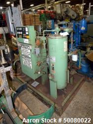 Used- Sullair Single Stage Rotary Screw Compressor, Model 12BS-50L WCAC. Approximate 235 cfm at 100 psi. Driven by a 50hp mo...