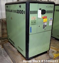 Used- Sullair S-Energy 3000 Air Cooled Lubricated Rotary Screw Air Compressor, Model 3009 AC. Rated approximate 167 CFM at 1...