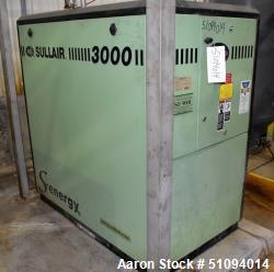 Used- Sullair S-Energy 3000 Air Cooled Lubricated Rotary Screw Air Compressor