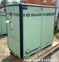 Sullair 3000 Series Air Cooled Rotary Screw Compressor