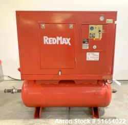 Used- Red Max Rotary Screw Air Compressor