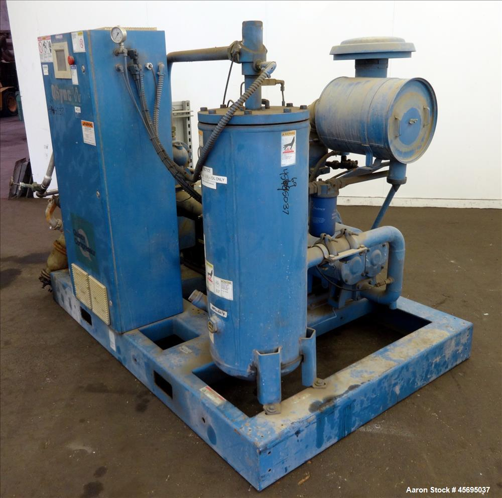 Used- Quincy QSync Water Cooled Rotary Screw Comp