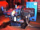 Used-Ingersoll-Rand Centac Type C8M2, 200 HP Air Compressor, Oil-Free. Overall 8' x 6