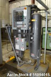 Used- Parker Airtek TWP Series Externally Heated Desiccant Air Dryer, Model TF-TWP200-A1-PL-JCE-460. Capacity 200 SCFM, mini...
