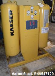 Used- Kaeser Air Dryer, Model KAD-165. Rated 165 cfm at 100 psi. Serial# 10000002875294.