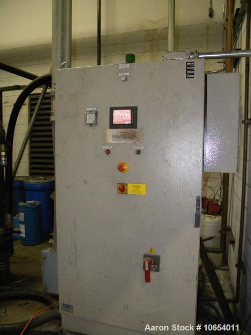 Used-SIAD High Pressure Air Compressor, Model Tempo 1500.  360 Hp, 883 cfm, 600 psi, 460 volts, 50/60 hz.  Includes high pre...