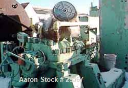 """USED: Demag 2 stage """"nitrogen"""" booster compressor, model K4II/SO. Critical speed 5990 rpm, intake 140 psi at 100 deg F. Disc..."""