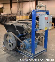 Used-Rix Natural Gas Compressor. Approximate gas flow rate 120 SCFM, inlet 120 psig, inlet temperature 60 to 100 degrees F.,...