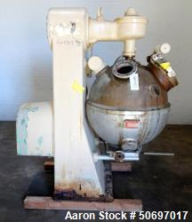 "Used- Bosch Hansella Candy Cooker , Model 110C. Approximate 160 liter (42 gallon) copper cooking chamber, 32"" diameter, hemi..."