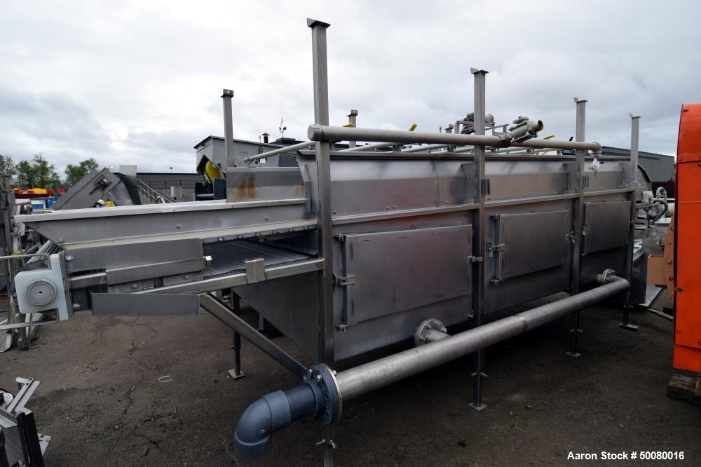 Used- Cooling Belt, Stainless Steel.