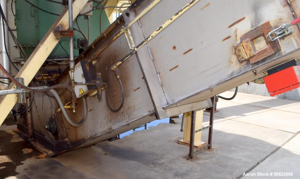 Used- Astec Chip Drag Conveyor, Model BTD Drag