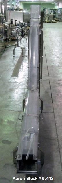 Used- Autopack Inclined Belt Conveyor